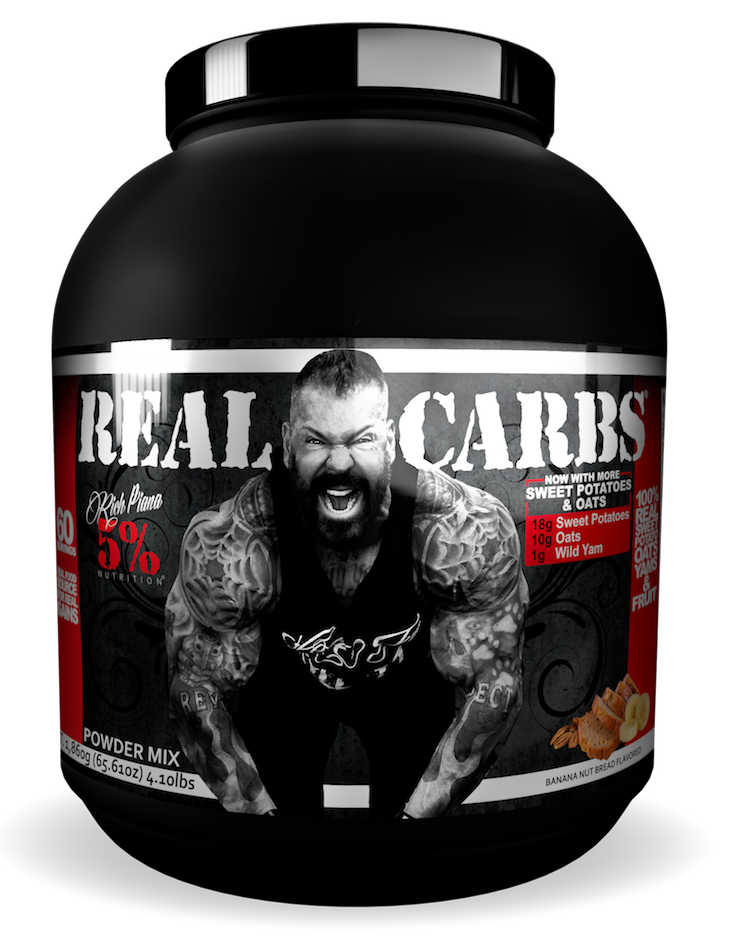 5% Nutrition Real Carbs, 1800g