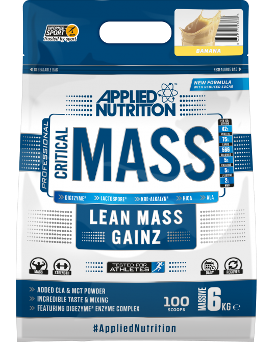 Applied Nutrition Critical Mass, 6kg