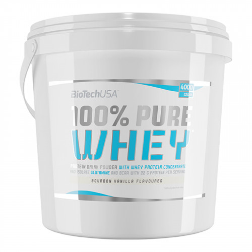 Biotech USA 100% Pure Whey, 4000 gr