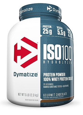 Dymatize ISO 100 Hydrolyzed, 2200 g
