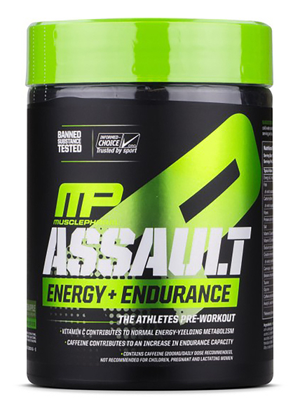 MusclePharm Assault Energy + Endurance