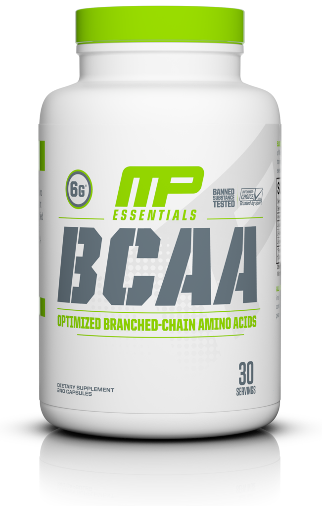 MusclePharm Essentials BCAA, 240 capsules