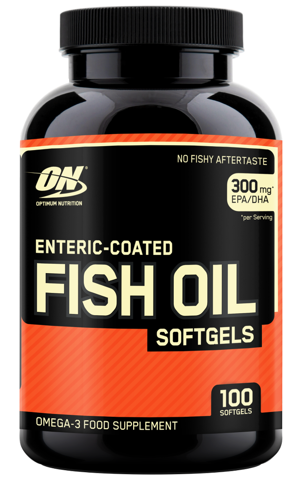 Optimum Nutrition Fish Oil Softgels, 200 Softgels