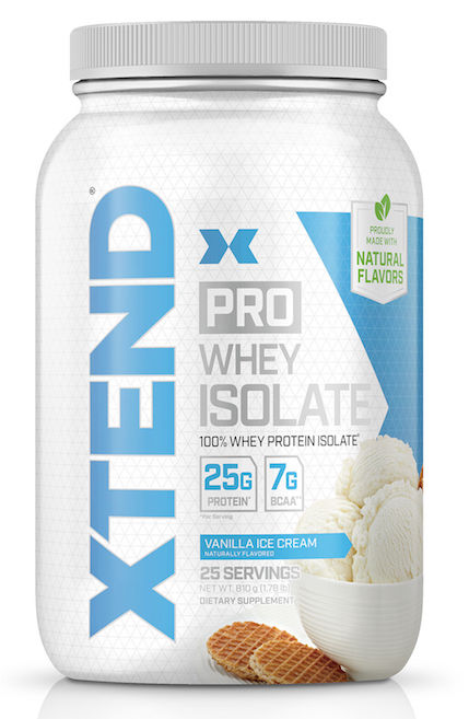 XTEND Pro Whey Isolate, 826 g