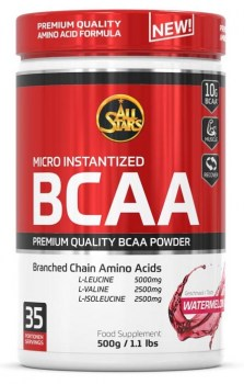 All Stars BCAA Powder-water-melon-front