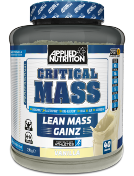 Applied Nutrition Critical Mass-2.4kg-vanilla