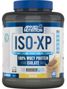 Applied Nutrition ISO-XP-tub-2kg-banana