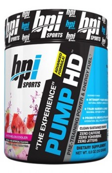BPI Sports PUMP HD, 25 servings
