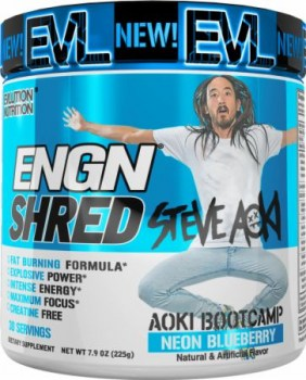 EVL ENGN Shred Pre Workout 1
