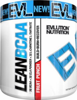 EVLUTION NUTRITION LeanBCAA,  30 Servings