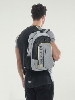 Golds Gym Contrast Backpack
