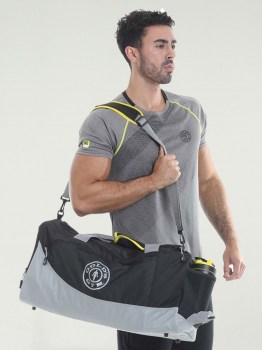 Golds Gym Contrast Holdall Bag