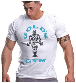 Golds Gym Muscle Joe Gym T-Shirt White