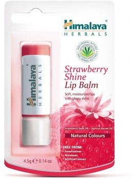 Himalaya Herbals Strawberry Shine Lip Balm
