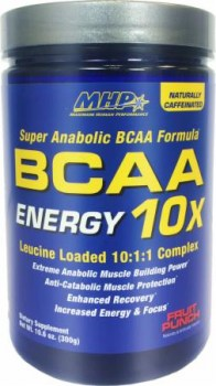 MHP BCAA Energy 10X, 300 Grams