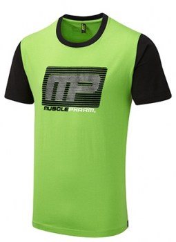 MP Flock Logo Tee Green9