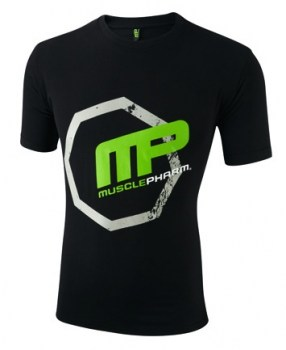 MP-Crew Neck Octagon Tee Black