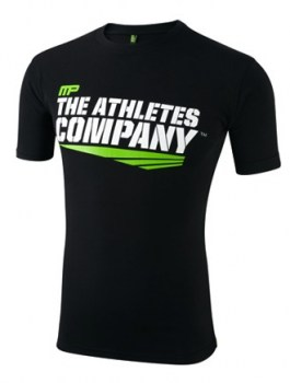 MP-Crew Neck The Athletes Company Tee Black