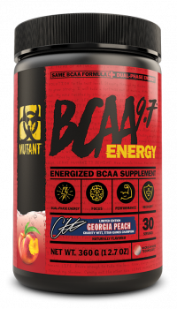 MUTANT BCAA 9.7 ENERGY_Georgia_Peach_Flavor_360_g