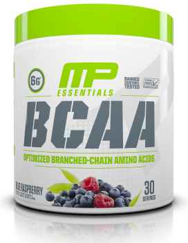 MusclePharm Essentials BCAA Powder_BlueRasberry