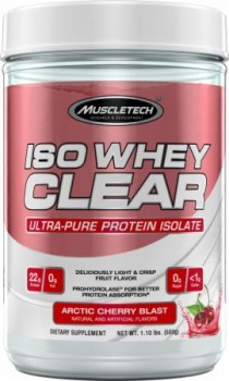MuscleTech Iso Whey Clear ST