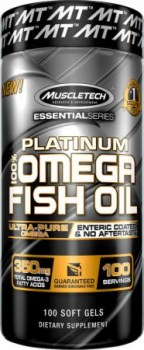 MuscleTech Platinum 100 Fish Oil