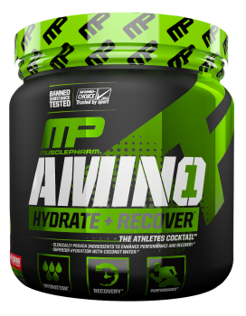 Musclepharm Amino1, Hydrate Recovery