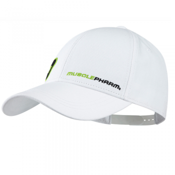 Musclepharm Sportswear Hat Youth White