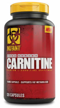 Mutant Core Series L-Carnitine, 120 capsules