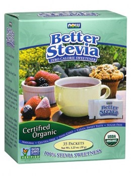 Now Foods Better Stevia Organic, 35 Packets