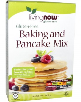 Now Foods Gluten-Free Baking and Pancake Mix, 481 gr