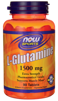 Now Foods L-Glutamine 1500mg, 90 capsules