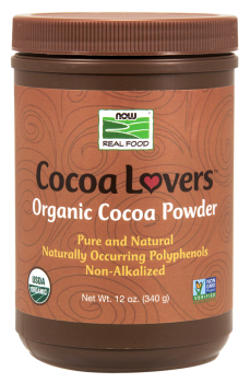 Now Foods Organic Cocoa Powder, 340 gr