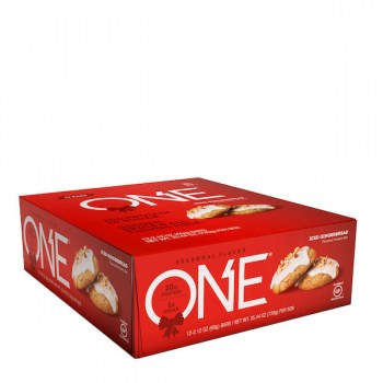 ONE Protein Bar Iced Gingerbread_Front_Box