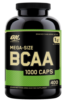 Optimum BCAA 1000, 400 capsules
