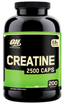 Optimum Creatine 2500 Caps, 200 Capsules