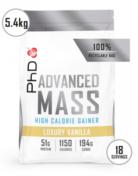 PhD Advanced Mass-5.4kg-luxury-vanilla