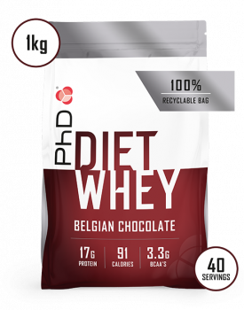 PhD Diet Whey Protein_1kg_belgian_chocolate_-_mobile