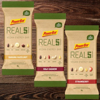 Powerbar Real 5 Vegan Energy Bar-R5