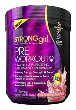 StrongGirl Pre-Workout, 30 Servings