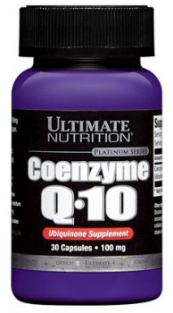 Ultimate Nutrition Coenzyme Q10 100mg, 30 Capsules