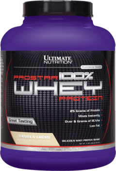 Ultimate Nutrition Prostar 100 Whey Protein, 2.2 K